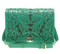ASOS Leather Bright Tooled Satchel