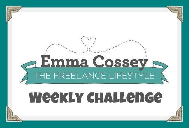 freelance lifestyle weekly challenge