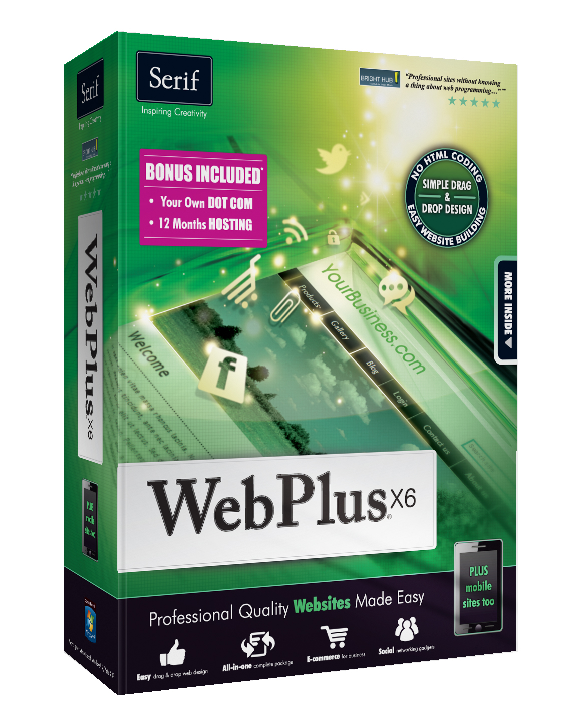 Competition How To Build Your Own Website With Webplus X6