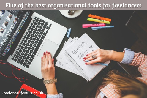 Five of the best organisational tools for freelancers