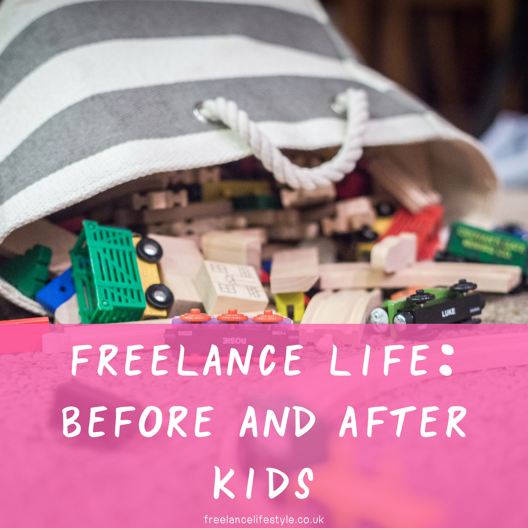 freelancing with kids