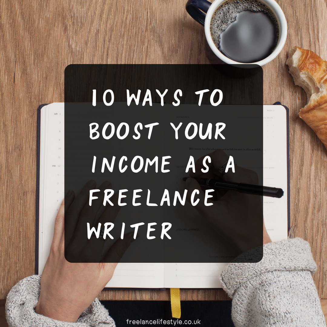 boost your writing income