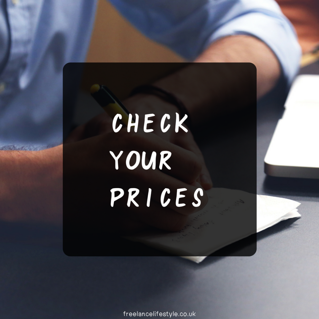 how to set your prices