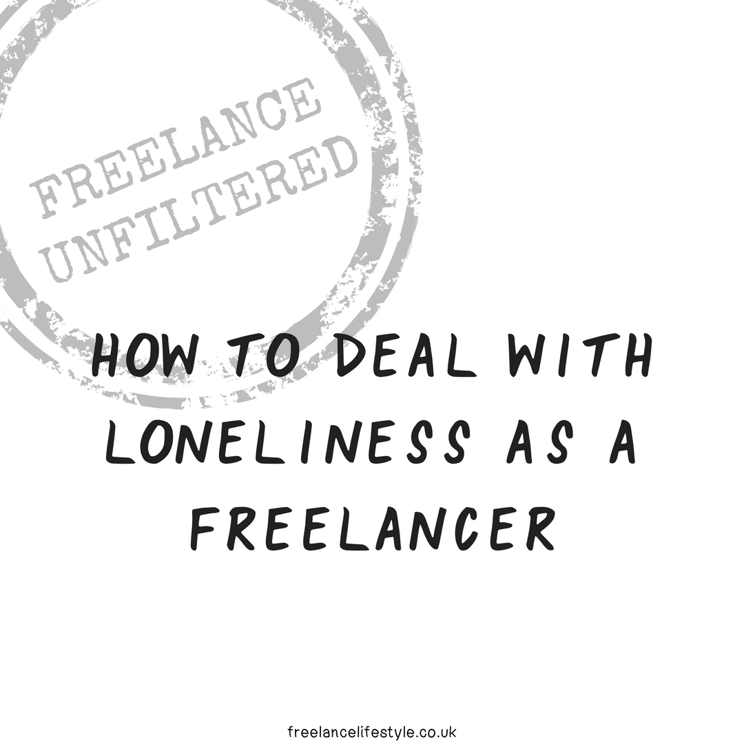 How to deal with loneliness as a freelancer