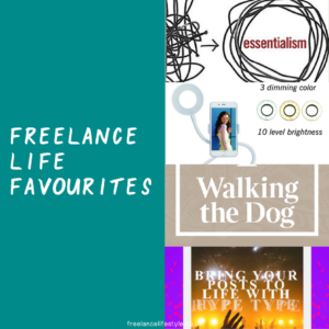 freelance favourites October