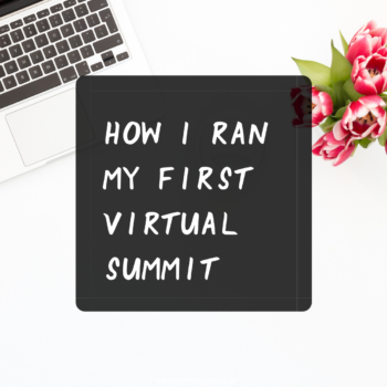 how to run a virtual summit