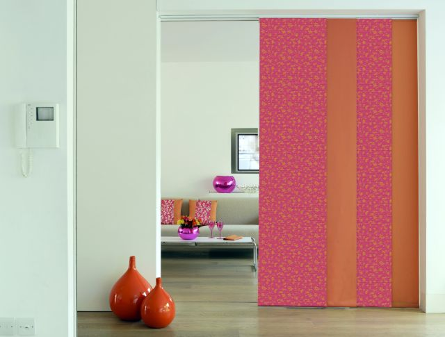 Sliding Panels in Arabella Electra and Contrasting plain small