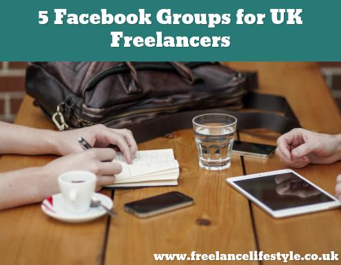 Facebook groups for UK Freelancers