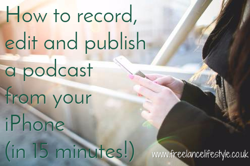 record and edit podcast on iphone