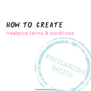 freelance terms and conditions
