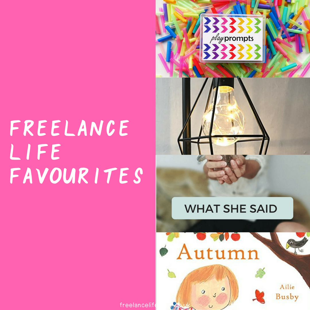 Freelance faves September